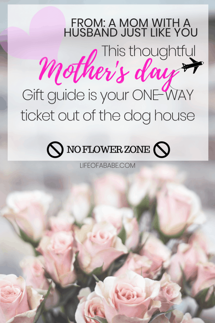 This thoughtful Mother's day gift guide is your ticket out of the dog house