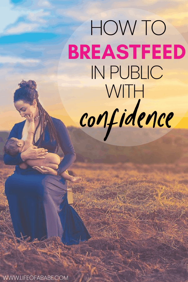 How to master the art of breastfeeding in public with confidence