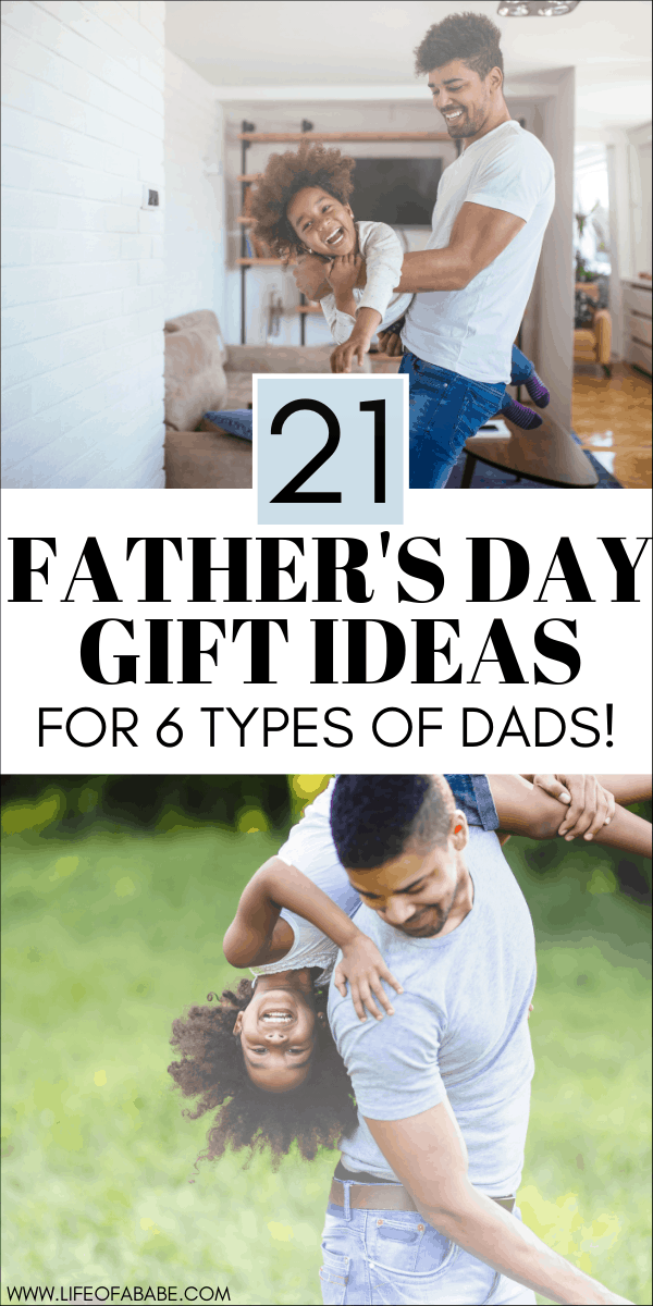 21 Father's day gift ideas for 6 types of dads   Father's day gift guide   Unique Father's day gifts to buy   Creative Father's day gift ideas #fathersday #giftguide #dad