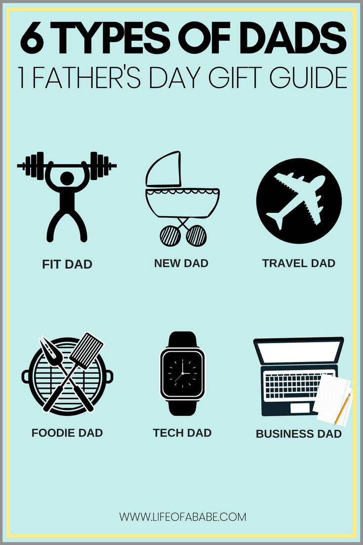 6 types of dads & 1 ultimate Father's Day gift guide