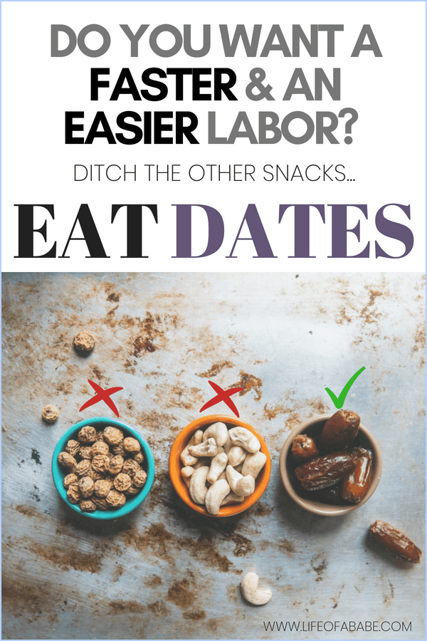 Do you want faster and shorter labor? Eat dates!