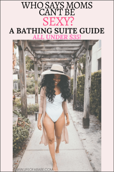 A sexy mom bathing suit guide- all under $35!