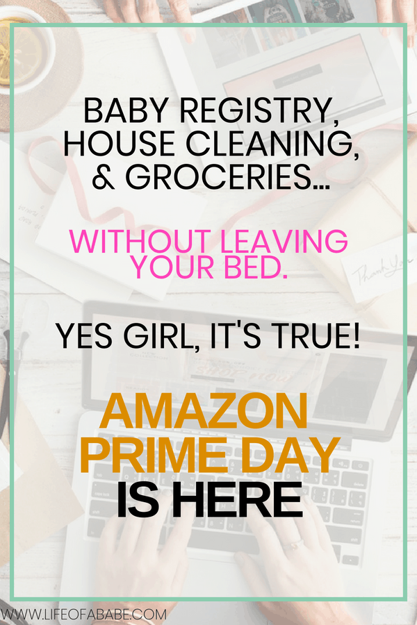 Everything you need from the comfort of your home as a Prime member on Amazon Prime Day