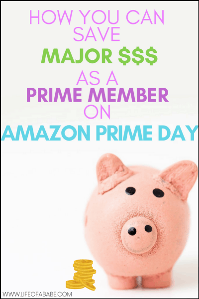Save big money as a Prime member on Amazon Prime Day
