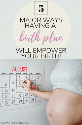 5 important reasons why you should have a birth plan