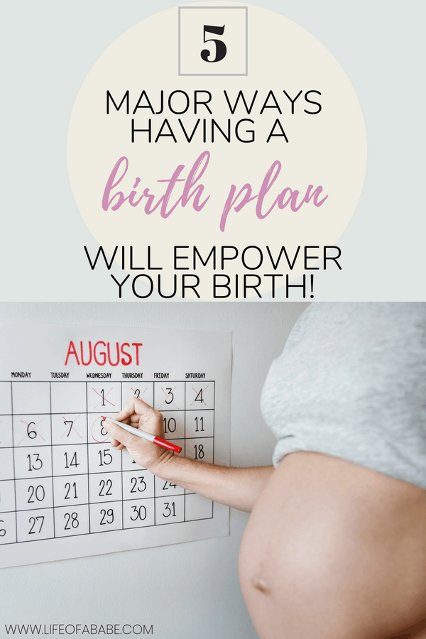Here are 5 important reasons why you need a birth plan