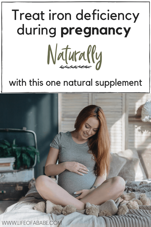 Treat iron deficiency during pregnancy with this 1 natural herbal supplement