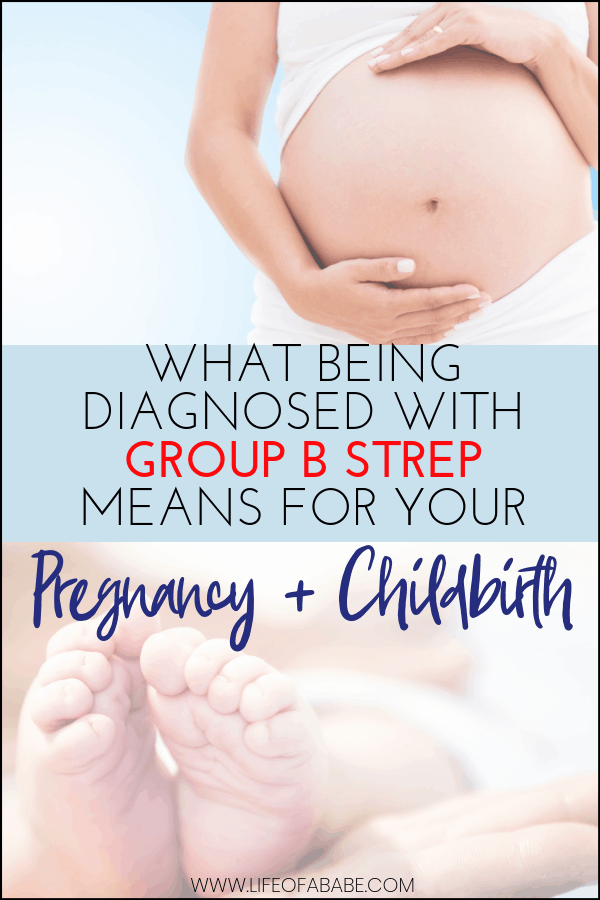 What being diagnosed with GBS during pregnancy means