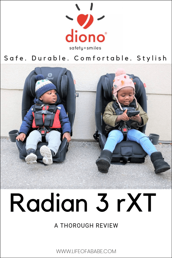 Diono 3 rXT car seat review