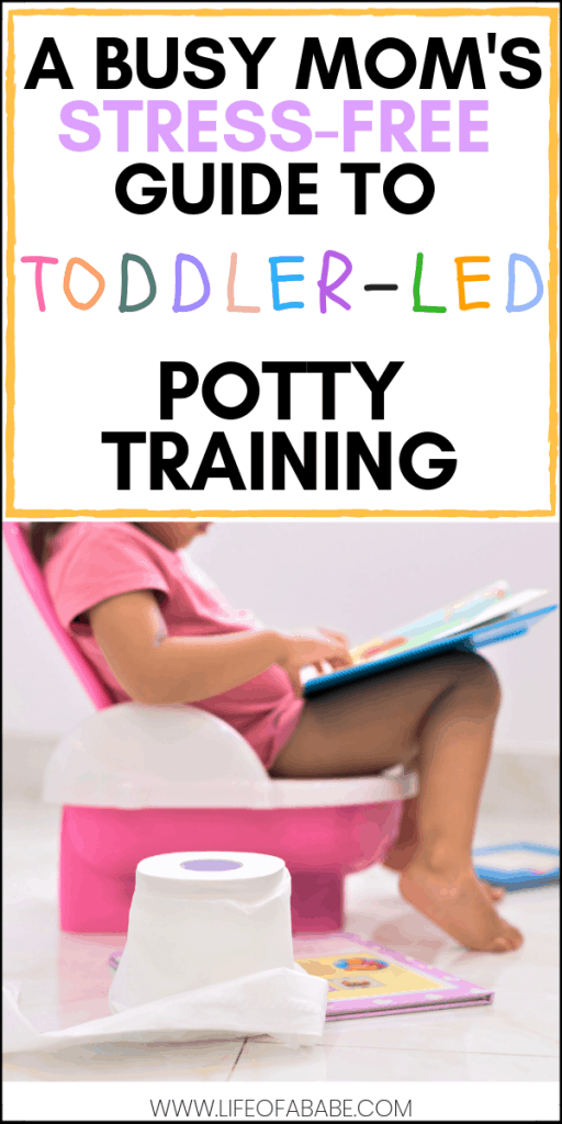 A busy mom's stress-free guide to toddler-led potty training