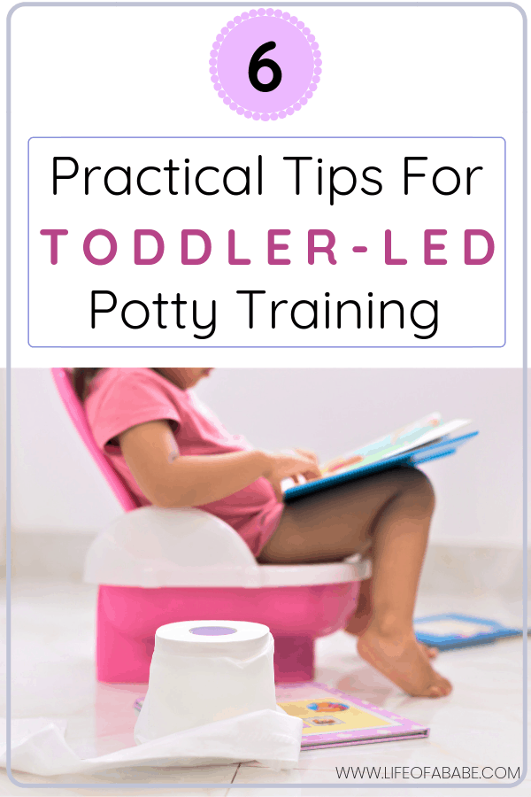 6 Practical tips for toddler-led potty training