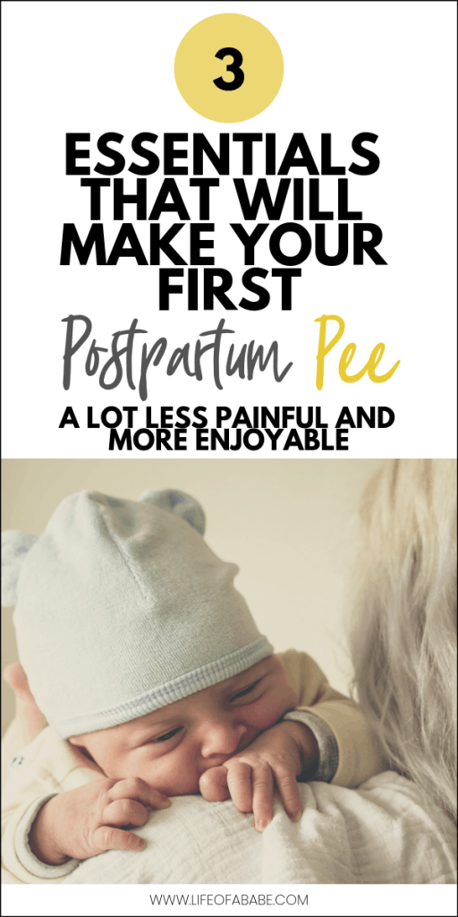 Essentials That Will Make Your First Postpartum Pee A Lot Less Painful And More Enjoyable