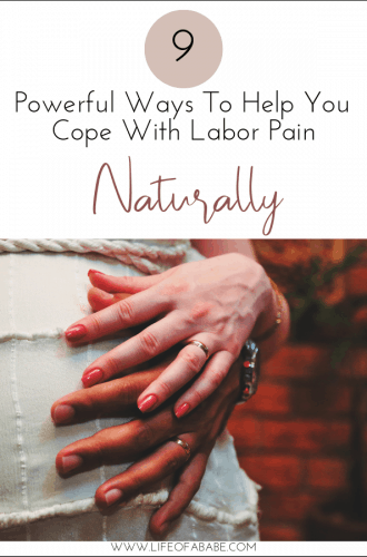 9 super effective ways to manage the intensity of labor naturally