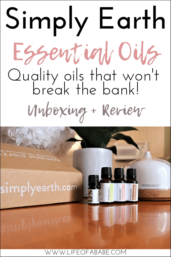 Simply Earth quality essential oils Unboxing and review