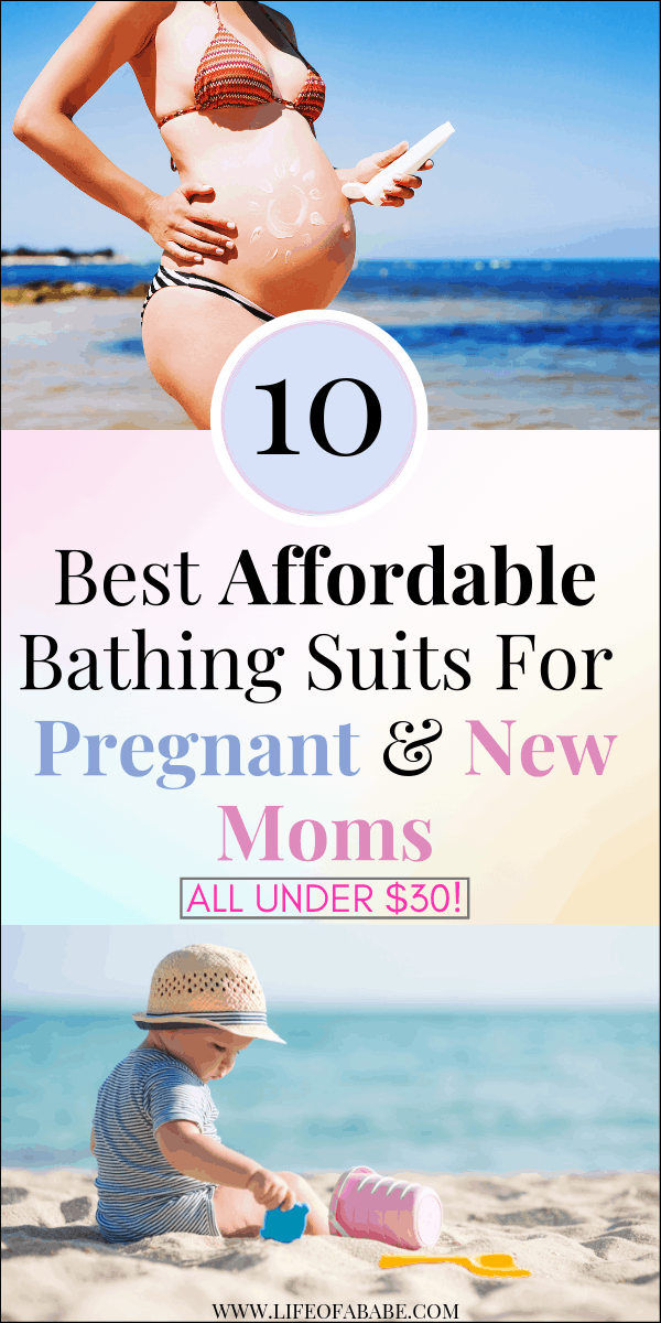 Best Affordable Bathing Suits For Pregnant And New Moms | Top 10 Best Affordable & Stylish Maternity Swimwear For Pregnant And New Moms (All under $30!) | Affordable Maternity Swimwear For Pregnant And New Moms | maternity swimwear | maternity swimwear onepiece | maternity swimwear bikini | maternity swimwear tankini | maternity swimwear modest | pregnant bathing suit | two piece maternity bathing suit | #summer #beachwear #maternityfashion #newmoms #baby #postpartum
