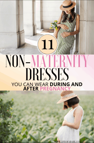 11 Super Stylish And Affordable Non-Maternity Dresses You Can Wear During And After Pregnancy