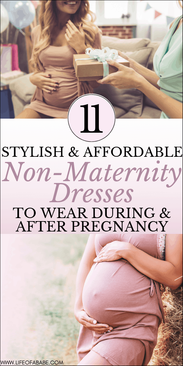Affordable non-maternity dresses pregnant moms can wear this summer | Non-maternity dresses pregnant moms can wear during and after pregnancy | Non-maternity dresses for a summer baby shower | Casual non-maternity dresses for pregnant moms | Casual non-maternity dresses that are formal | #maternity #pregnant #newmoms #pregnancyfashion #baby #thirdtrimester #firsttrimester #secondtrimester