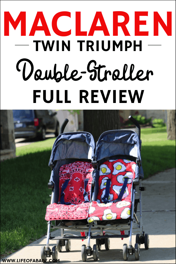 #sponsored | Maclaren double stroller | double stroller side by side | double stroller for twins | double stroller for infant and toddlers | compact stroller | lightweight stroller | #newmoms #thirdtrimester #baby #momlife