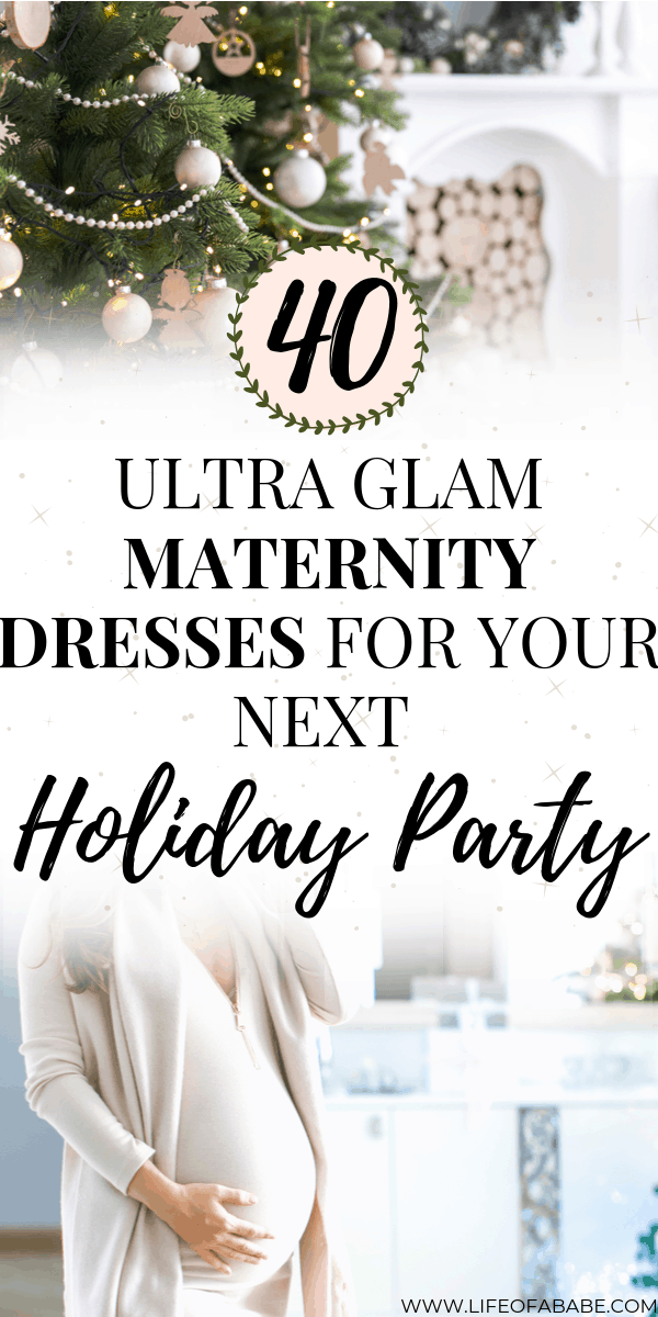 40 Ultra glam holiday maternity dresses for pregnant moms | 40 Beautiful holiday maternity dresses for your next Christmas and New Year's Parties | Holiday maternity dresses for pregnant moms | Maternity dress for the holidays | Holiday maternity dress | Maternity dresses for pregnant moms | Maternity New year's dress | Maternity Christmas dress | #pregnancyoutfits #newmoms #fashion #baby #thirdtrimester #maternityfashion #maternitystyle #pregnancy #childbirth #laboranddelivery #christmas #newyears
